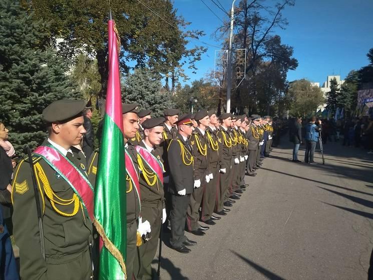 У Дніпрі вихованці військового ліцею дали клятву на вірність народу України (ФОТО)