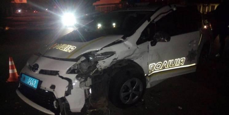 В Одесі у ДТП протрапила патрульна автівка