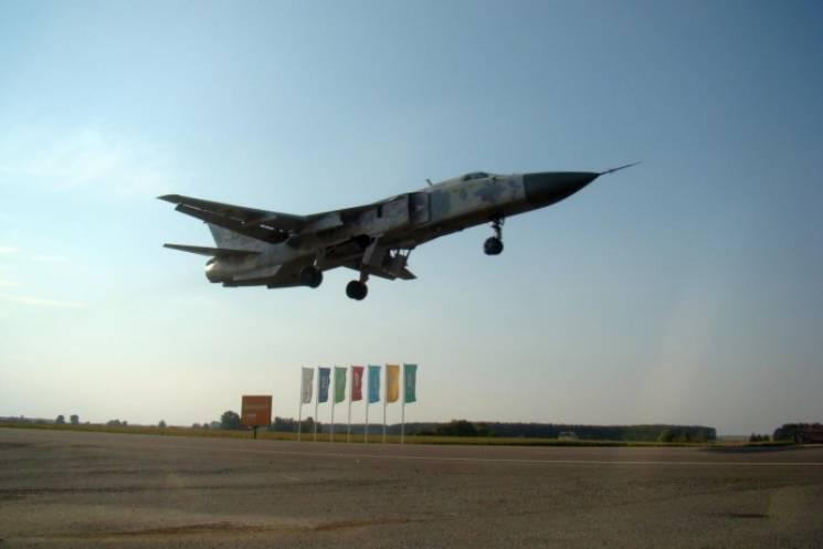 На Вінниччині розбився винищувач СУ-27,…