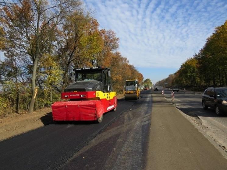 Що твориться на реконструкції Західного під'їзду до Хмельницького (ФОТОРЕПОРТАЖ)