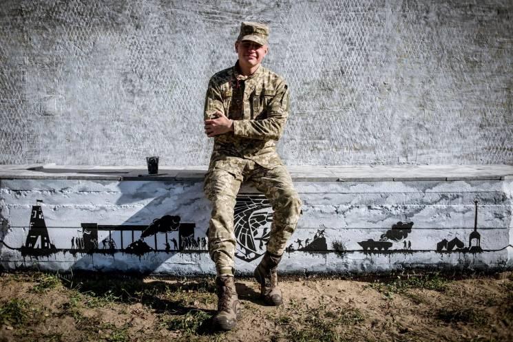У військовій частині поряд із Дніпром бе…