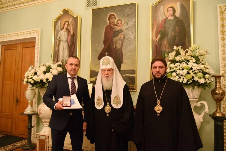 Філарет зустрівся із головою Рівненської ОДА
