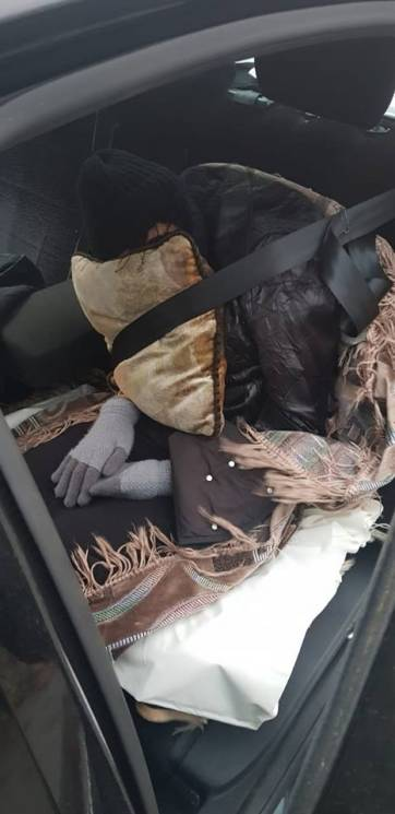 на харківщині везли мертву жінку