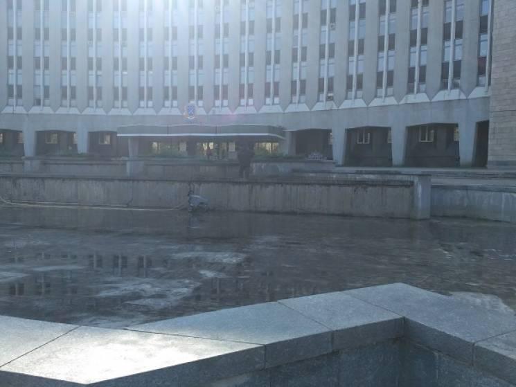 У Дніпрі фонтани