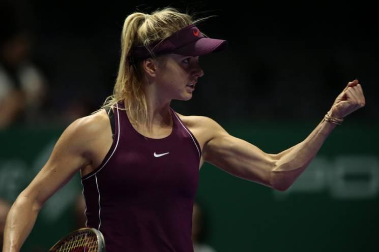 Феєрична Світоліна - перша українська тенісистка, яка зіграє у фіналі Підсумкового турніру WTA