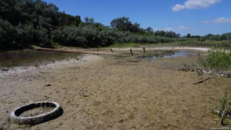 Акумуляція водних ресурсів в окупованому…