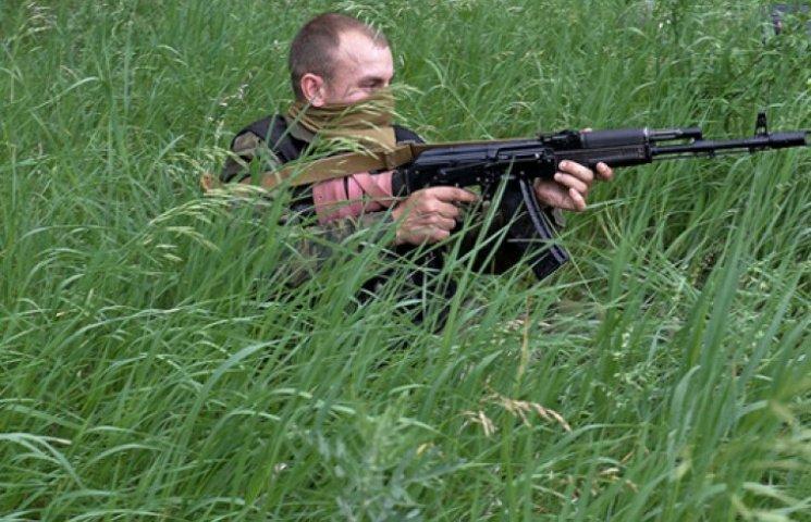 На Востоке Украины российская армия засела в кустах