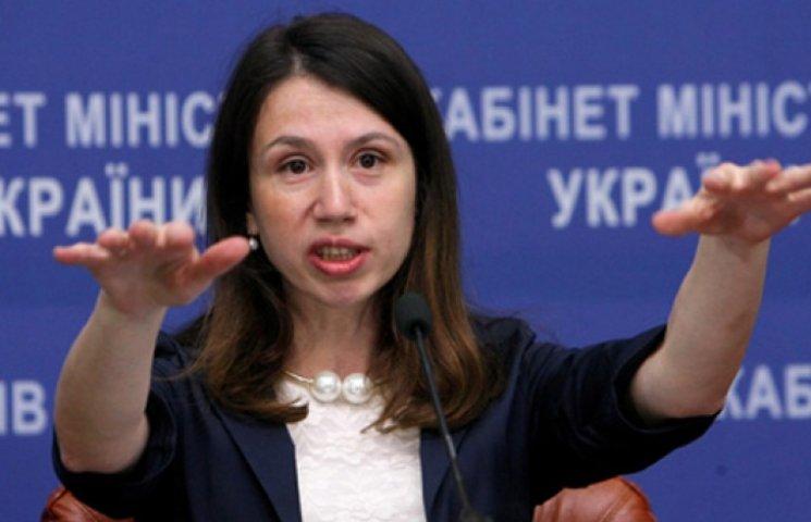 Чорновол избила министра Яценюка