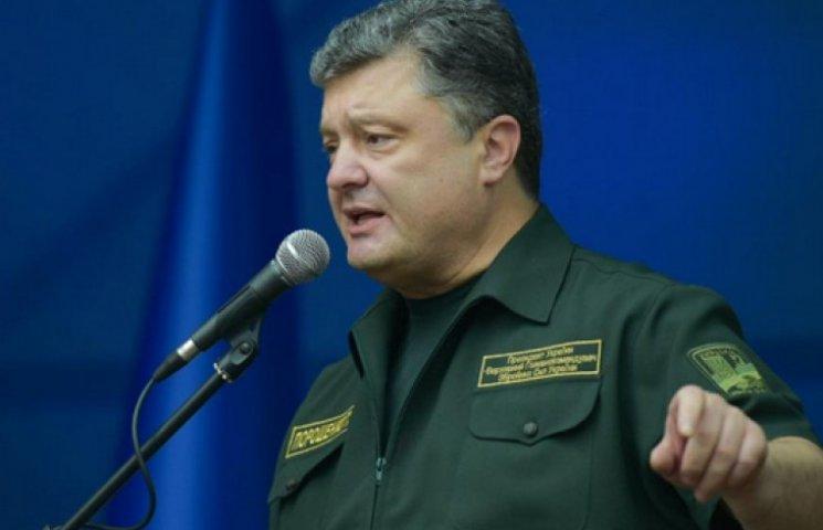 Порошенко рассказал об обстреле позиций АТО после сообщения о его визите в Мариуполь