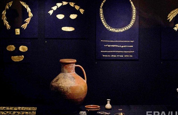 Кримське золото скіфів повернулося в Україну і виставлене для огляду