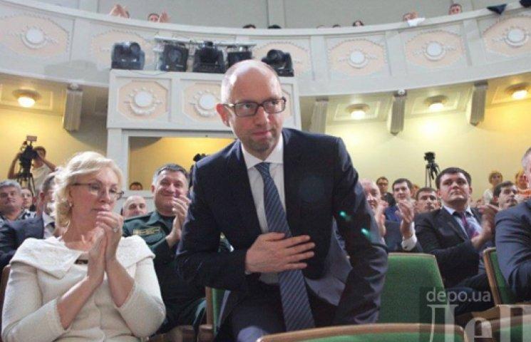 Яценюк обраний лідером «Народного фронту»