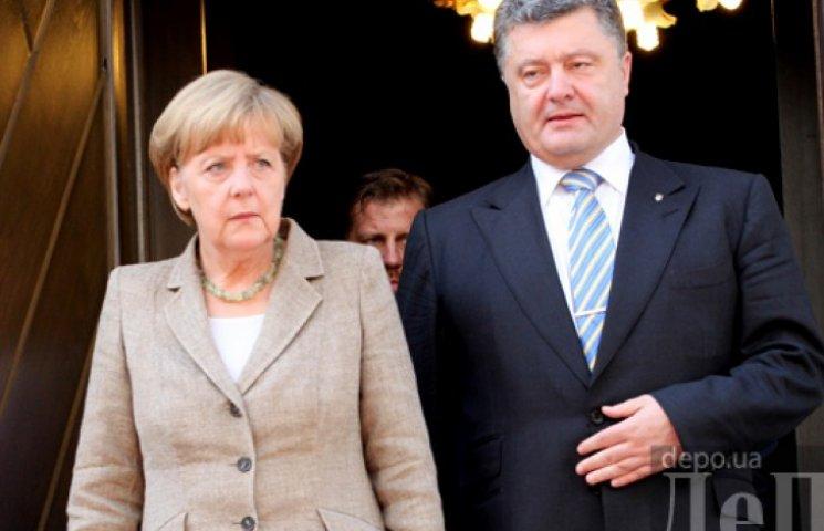 Порошенко з Меркель вирішували, що робити з перемир