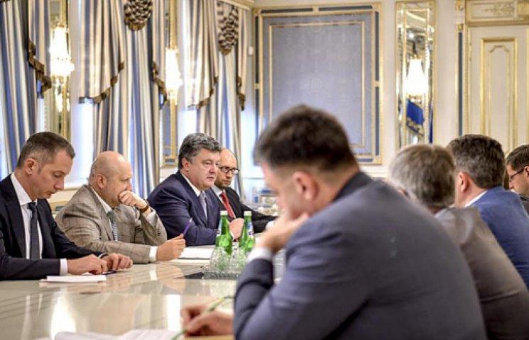 Порошенко запевняє, що терористи не підпадуть під амністію на Донбасі