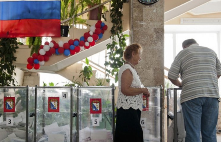 Офіційні підсумки незаконних виборів у Криму: ганебну явку натягнули