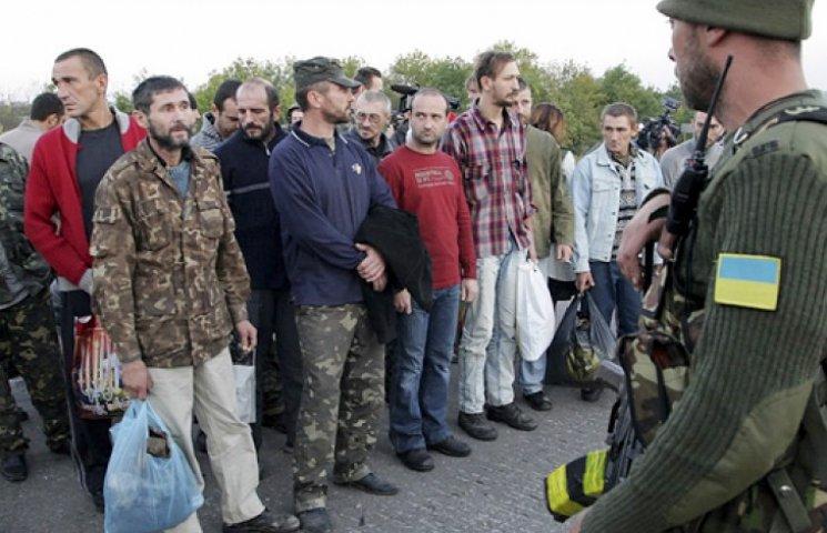 Из плена в Красном Луче освобождены еще шесть военных