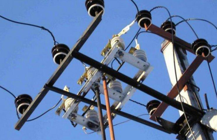 Часть Киевской области уже коснулось «аварийное» отключение электроэнергии
