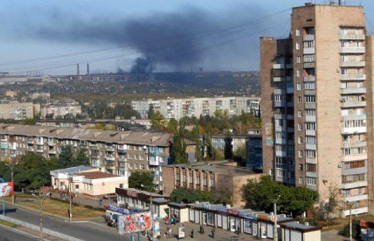 На Луганщине горел завод Таруты: есть погибшие