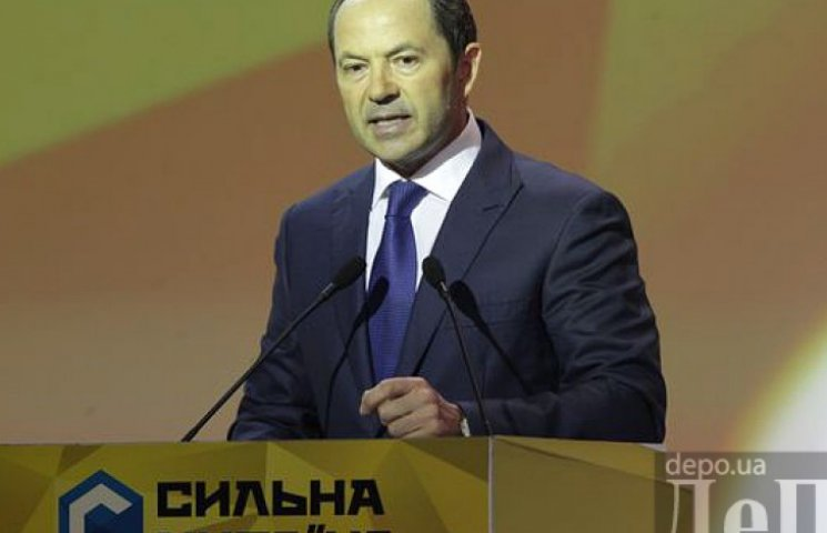 Доверие украинцев к партии Тигипко «Сильная Украина» за последний месяц выросло