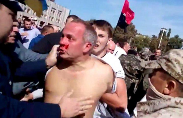 В Одессе избили «регионала» Шуфрича