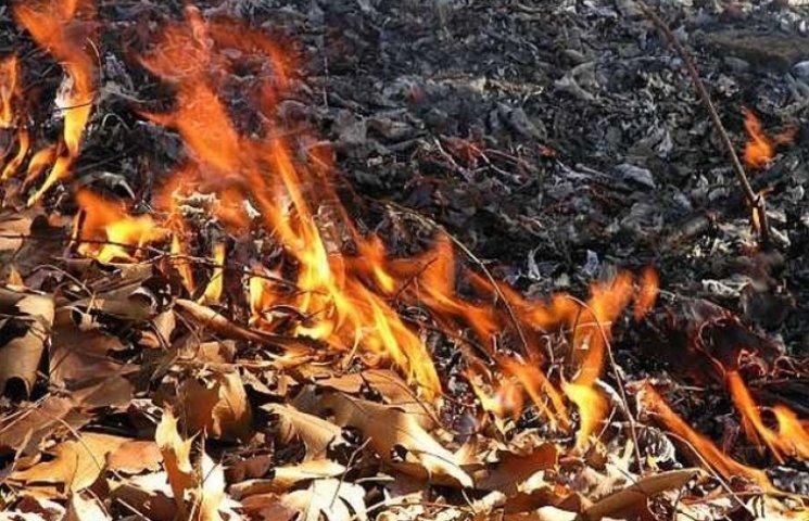 На Полтавщині чоловік спалював сміття і опинився в лікарні
