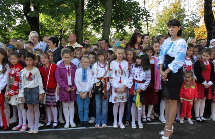 Що модно було вдягнути на Перше вересня у Львові