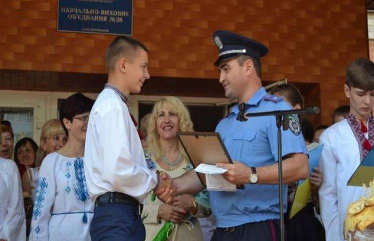 Хмельницький школяр допоміг затримати озброєного грабіжника