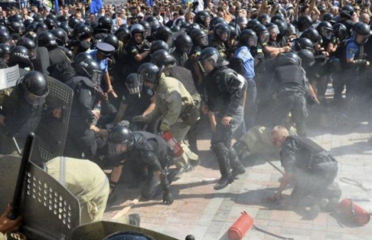 Серед постраждалих 31 серпня під Радою вінницьких правоохоронців немає, - обласна міліція