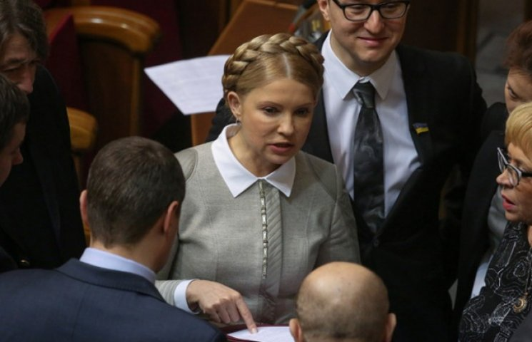 Чому Тимошенко не хоче очолювати коаліцію