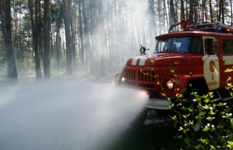 Величезну пожежу в майже 100 гекткарів лісу на Ізяславщині наранок ліквідовано