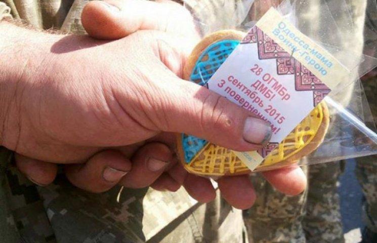 28 воїнів України з 28 бригади повернулся з буремного Донбасу до рідної Одеси