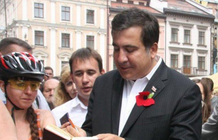 Михеїл Саакашвілі прийняв участь у відкритті україно-польського фестивалю у Львові