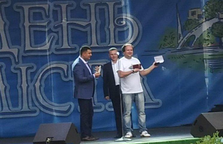 """Лідер """"ТІКу"""" став почесним громадянином Вінниці"""