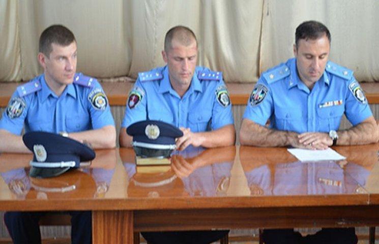 Лорткіпанідзе представив нового начальника міської міліції Ізмаїлу