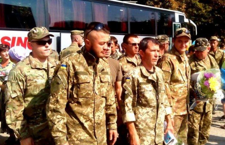 На Полтавщину демобілізували 36 бійців санітарної роти
