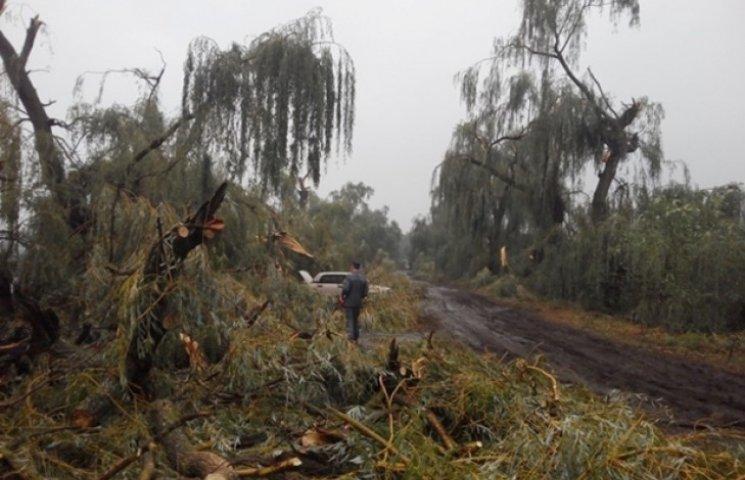 Буревій знеструмив 13 населених пунктів Вінниччини (ОНОВЛЕНО)