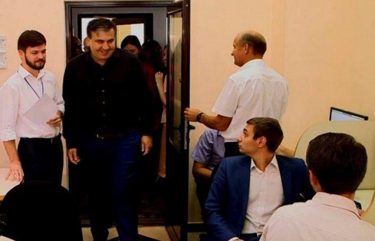 Михайло Саакашвілі вирішив перевірити тестування кандидатів у прокурори