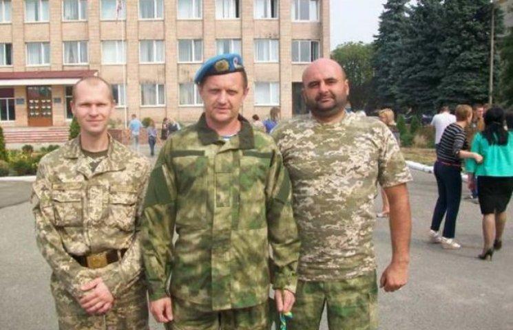 """""""Кіборг"""" з Хмельниччини, що боронив Донецький аеропорт, повернувся додому"""