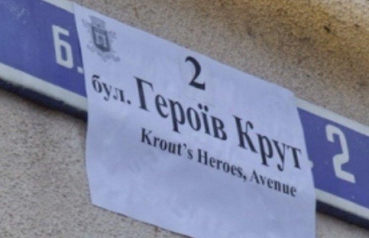 Зміну назв вулиць відклали, аби не заважати виборам