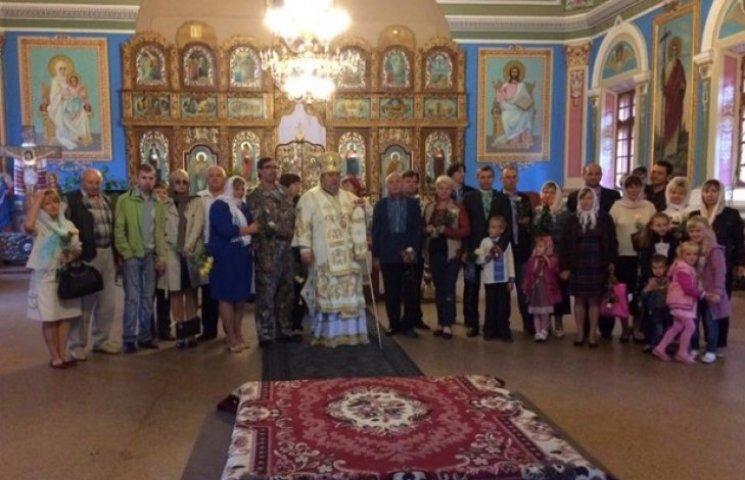 На Хмельниччині патріарх Філарет нагородив учасників Революції гідності