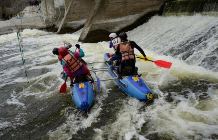 Вінничани виграли всеукраїнські змагання з водного туризму