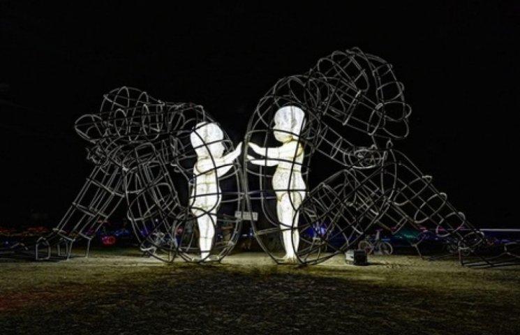 Творіння одеського скульптора встановлено на фестивалі Burning Man