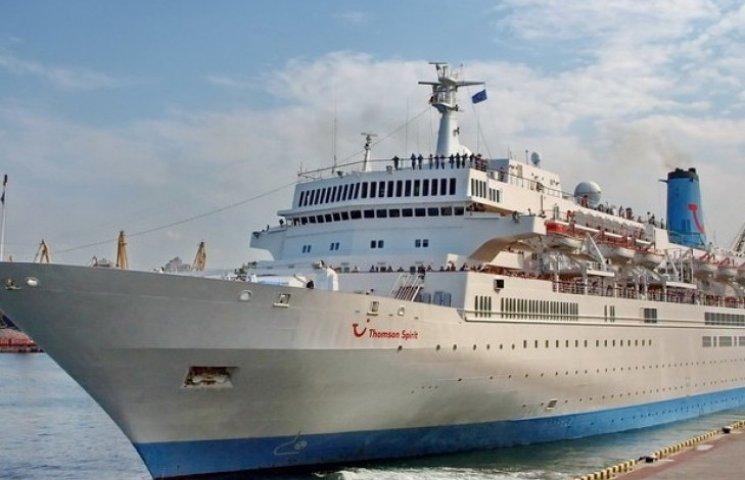 """Одесу третє відвідав пасажирський круїзний лайнер """"Thompson Spirit"""""""