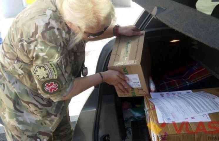 """Вінницькі волонтери повезли медикаменти в """"гарячі точки"""" зони АТО"""