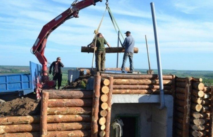 Вінниччина завершила будівництво захисних споруд в Луганській області