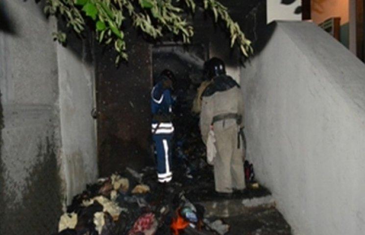 В одному з будинків в Одесі сталася пожежа