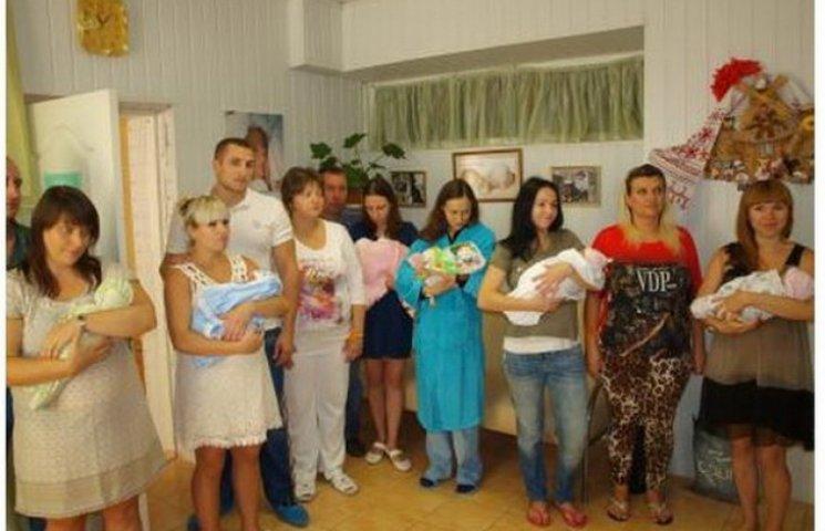 """Дніпропетровські мами """"підгадали"""" народження малюків на День міста"""