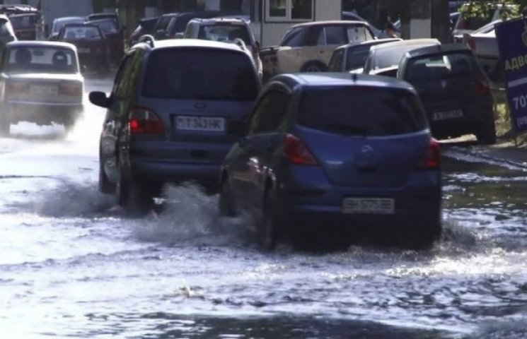 Одеські вулиці потерпають від потопу
