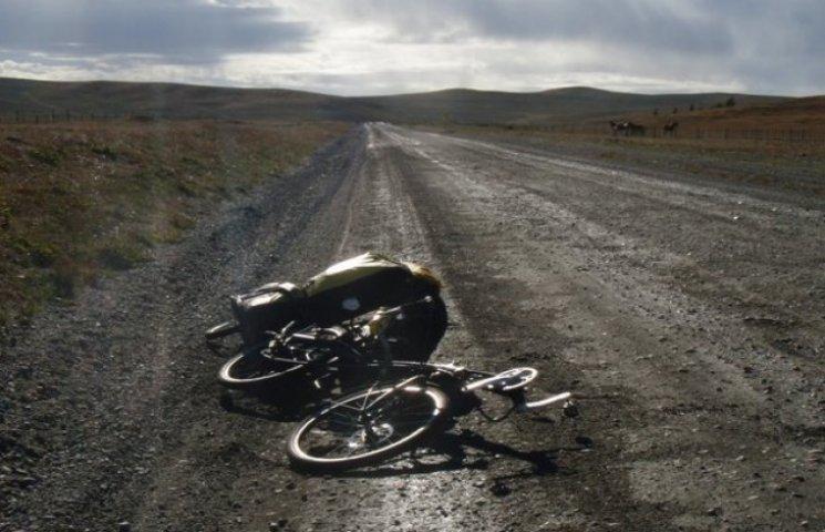 У Лохвицькому районі водій збив велосипедиста і втік