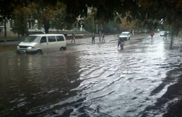 Як виглядає Львів після потопу