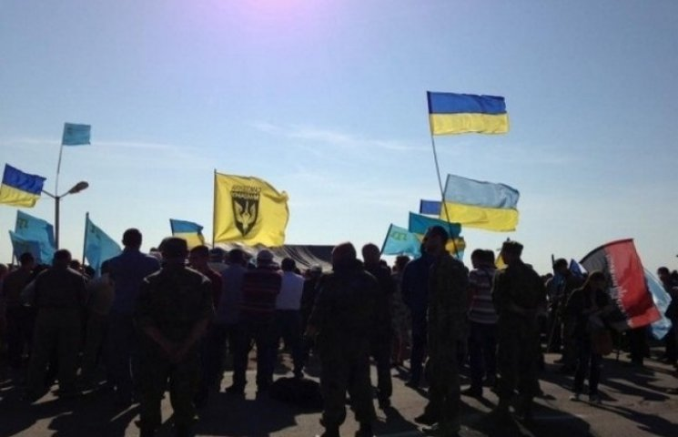 Активісти на Одещині блокували пункт пропуску до Придністров